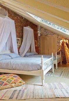 Eclectic Bedroom by Logan Killen Interiors