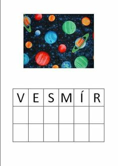 Space Theme, Solar System, Cosmos, Kids, Space, Astronomy, Young Children, Sistema Solar, Children