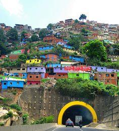 colores de una ciudad (caracas, venezuela)