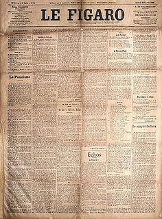 """Le Figaro"" Manifesto of Futurism Written by Filippo Tommaso Marinetti, February 20, 1909"