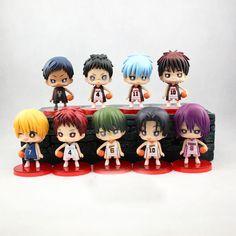 Kuroko No Basuke Figures - 9 Pcs/Set