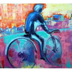 Fin del camino de Lilian Müller para #PuntoVero Categoría: Pintura Técnica: Acrílico Medidas: 100x90 cm