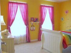 cortinas girl bedroom