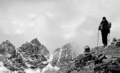 A Trekker, via Flickr. #mohal duwal gokyo peak #khumbu