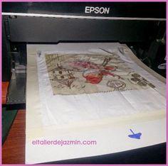 imprimir en una servilleta para découpage