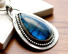 Labradorite holds the universe in its depths. Set a piece in your Moon corner to inspire inner exploration. #aclearplace