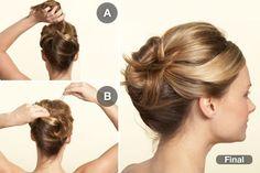 Polished Twist: Works on medium to long hair.