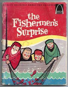 Vintage 1967 The Fishermen's Surprise Alyce Bergey Paperback Christan Arch Book