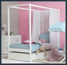 Super Kids Canopy Beds Design Interior More Design http://biancafidler.com/kids-canopy-beds-design-interior/