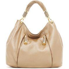 Michael Kors Tonne Hobo Bag ($895) ❤ liked on Polyvore
