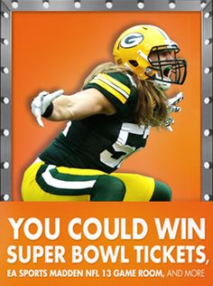 Win a Trip to the Superbowl or Game Room