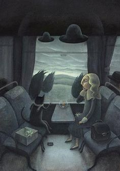 made by: Yoko Tanaka , illustration - (Public transport)