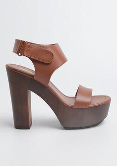 4666f20018 Wedge-heel Mules - Camel - Ladies | H&M US 1 | fashion | Wedge heels, Heels,  Heeled mules