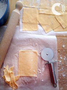 Sfoglia per lasagne senza glutine all'uovo - paneamoreceliachia