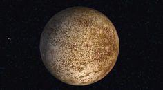 Mercurio, el planeta más veloz del sistema solar
