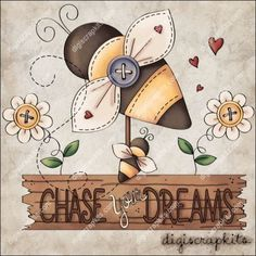 Chase Your Dreams 1 Clip Art Single