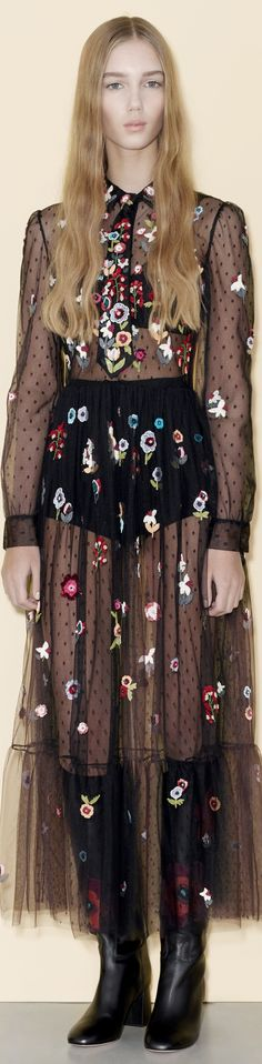 Red Valentino Pre Fall 2016 vogue
