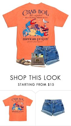 """QOTD: What's your go to coffee order?"" by preppyandsouthern17 ❤ liked on Polyvore featuring Birkenstock"