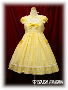 Lawn Gingham Chiffon JSK by Baby, the Stars Shine Bright ローンギンガム・シフォンジャンパースカート - 2009