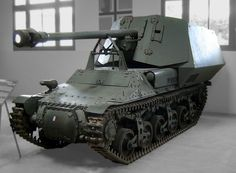 "German tankdestroyer ""Panzerjäger Marder I"""
