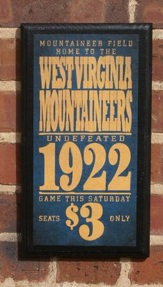 WV Mountaineers