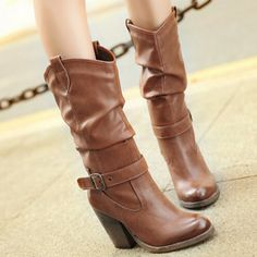 howtocute.com mid calf cowgirl boots (14) #cowgirlboots