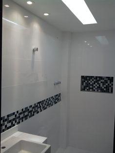 Resultado de imagem para Apartamento decorado banheiro luxo pastilha