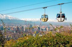 Saiba quais são os parques, os bairros e as atrações que você precisa conhecer na capital chilena