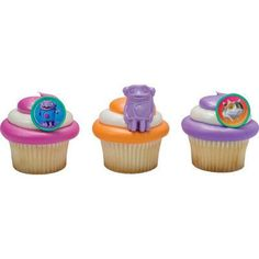 24 Pack Dreamworks Home Cupcake Rings Toppers by TheBalloonBox