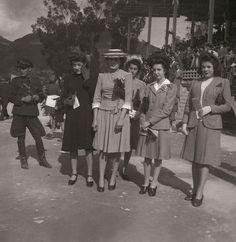 Mujeres en el hipódromo (1944) - Sady González - Bogotá Antigua - Twitter