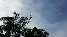 Drone on set
