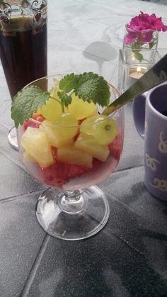 Fris dessertje self made