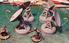 Bugbait_NZ put together some most excellent scratch built sat dishes!