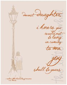 Narnia Quote Lamppost Petal 8x10 by TheLittleNarwhal on Etsy, $10.00