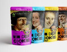 """Check out new work on my @Behance portfolio: """"Won Der Cookie"""" http://be.net/gallery/53874071/Won-Der-Cookie"""