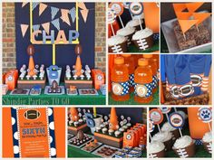 football themed party ideas