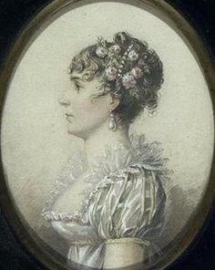 Miniature portrait of Josephine Bonaparte by Isabey