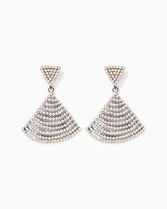 charming charlie | Rhinestone Fan Earrings | UPC: 400000067230 #charmingcharlie