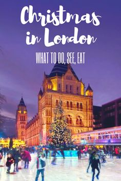 christmas in London: what to do, see and eat. The best decorations, lights and festive atmosphere in the British capital. Christmas markets and Winter Wonderland. The perfect Christmas trip.