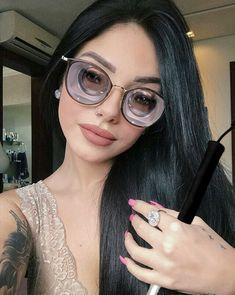 Geek Glasses, Blind Girl, Seeing Eye, Girls With Glasses, Detailed Image, Round Sunglasses, Deviantart, Female, Cat Eye
