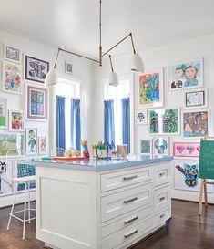 Craft Room Decor, Home Decor, Playroom Decor, Bedroom Decor, Wall Decor, Playroom Design, Brown Furniture, Interior Decorating, Interior Design