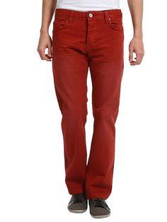 Kırmızı Kot Pantolon 89.90 TL enmoda.com