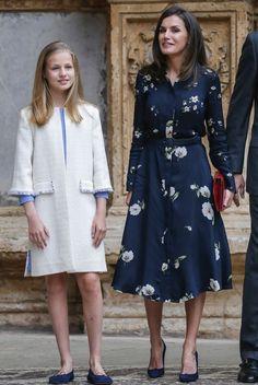Hollywood Fashion, Royal Fashion, Girl Fashion, Fashion Dresses, Fashion Tips, Modern Princess Outfits, Spain Fashion, Estilo Real, Cute Girl Dresses