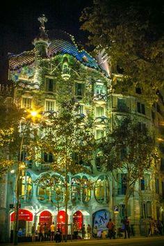 Casa Batlló (Gaudi), Barcelona
