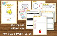 My Holiday Diary - Elsa Support