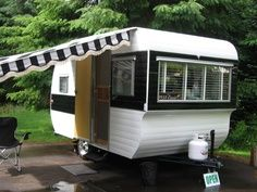 1960 Oasis travel trailer. Tiny Trailers & Vintage Campers.