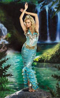 Sea Queen Sexy Costume