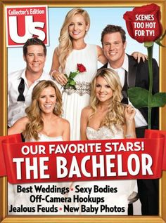 "Us Magazine ""The Bachelor""  2014 special edition. Hot off the presses."