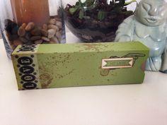 Idee für eine Geschenkbox zum aufziehen.
