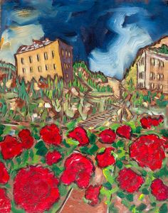 War of the Roses  Signed Stretched Canvas by DouglassTruthArt